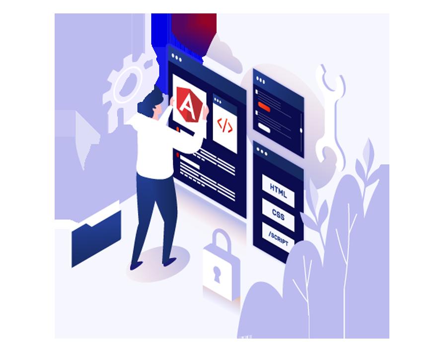 Website Development using AngularJS